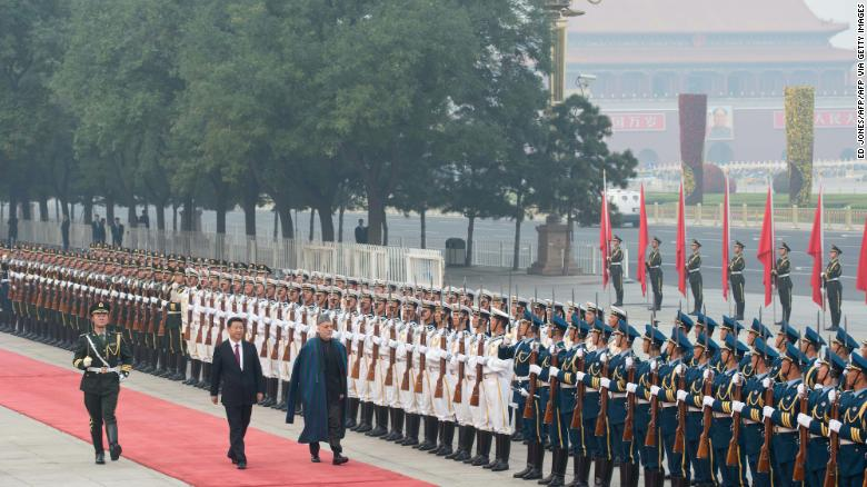 As US pulls out of Afghanistan, China sees opportunities — and potential for chaos
