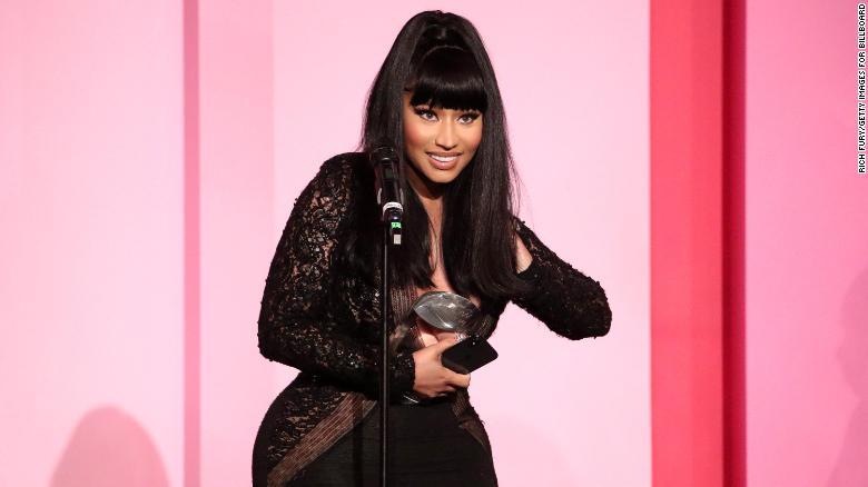 Nicki Minaj is obsessed with 'The Crown' — like, really obsessed