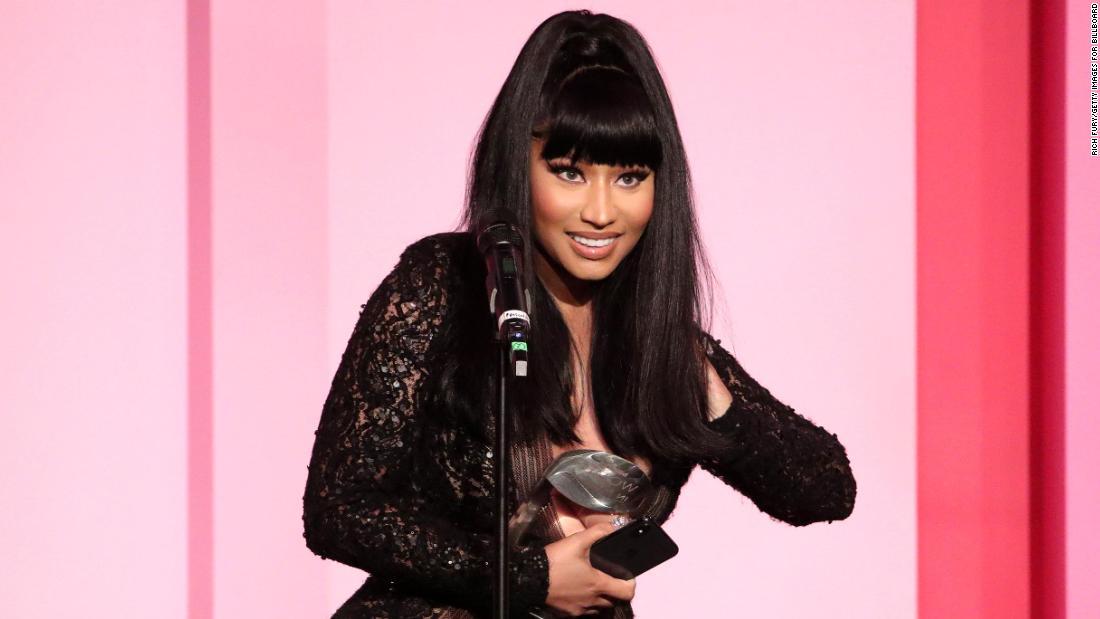 Nicki Minaj is obsessed with 'The Crown' -- like, really obsessed