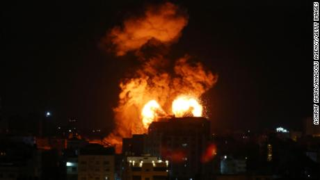 Terrified families huddle together in Gaza as Eid festivities turn into nights of death and destruction