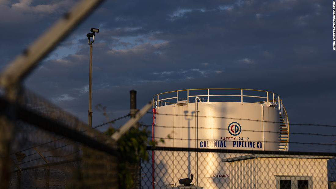 Colonial Pipeline attack: A 'wake up call' about the threat of ransomware