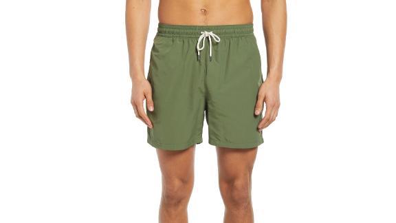 Polo Ralph Lauren Traveler Solid Swim Trunks