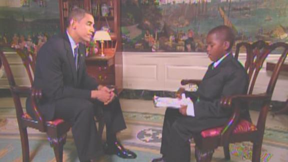 Image for Child reporter who interviewed President Obama dies at age 23