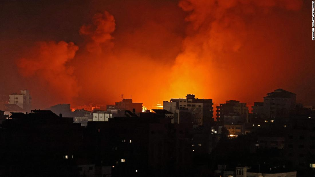 Israeli warplanes pound Hamas tunnels as conflict enters second week