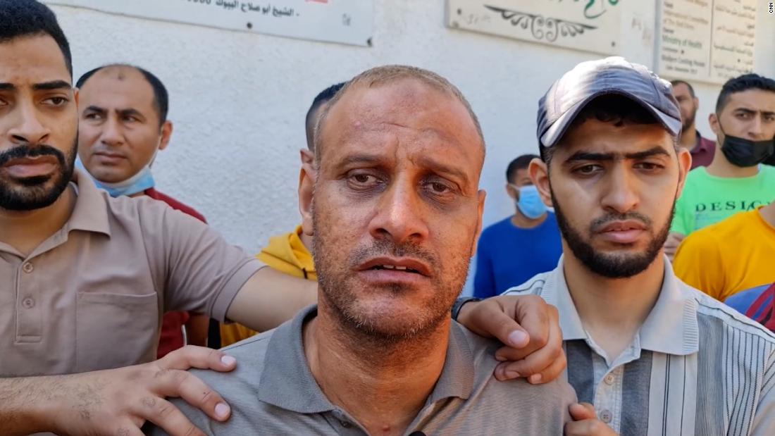 'The children were sleeping': Man loses 4 sons in Israeli airstrike