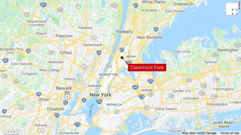 A shooting in a Bronx park leaves 1 person dead and 4 others injured, New York police say