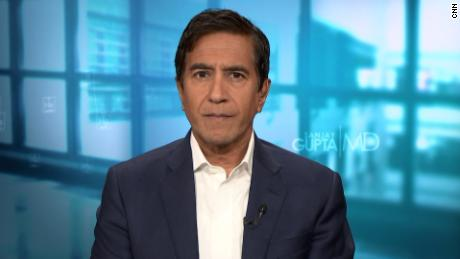 Dr. Sanjay Gupta says the CDC has incorrectly announced new guidelines for masks
