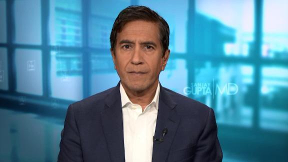 Dr. Sanjay Gupta appears on CNN on Sunday, May 16.
