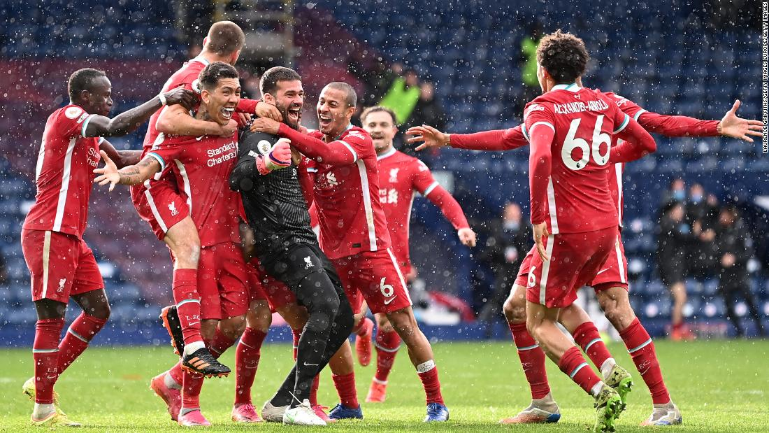 Liverpool goalkeeper scores extra-time winner against West Brom