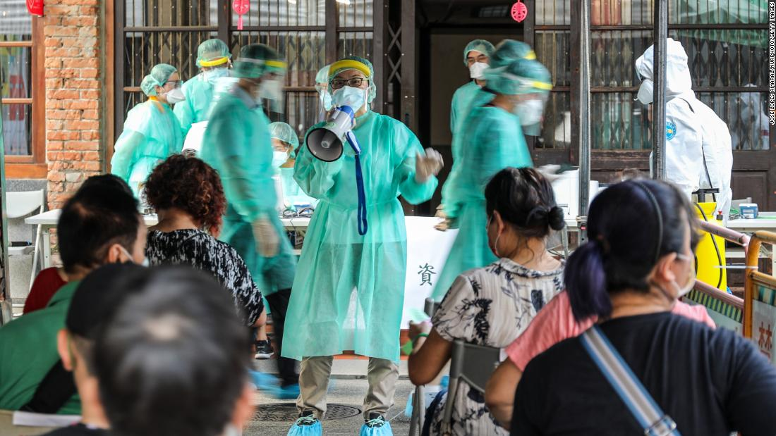 Taiwan was a Covid success story. Now it's fighting its biggest outbreak