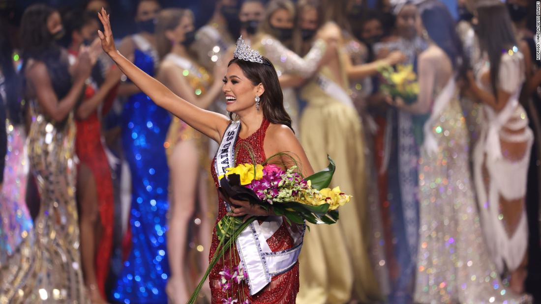 Mexico's Andrea Meza crowned this year's Miss Universe