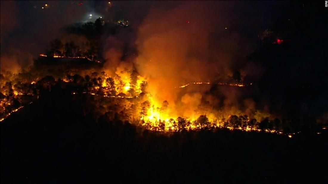 A New Jersey wildfire has torched about 900 acres and counting
