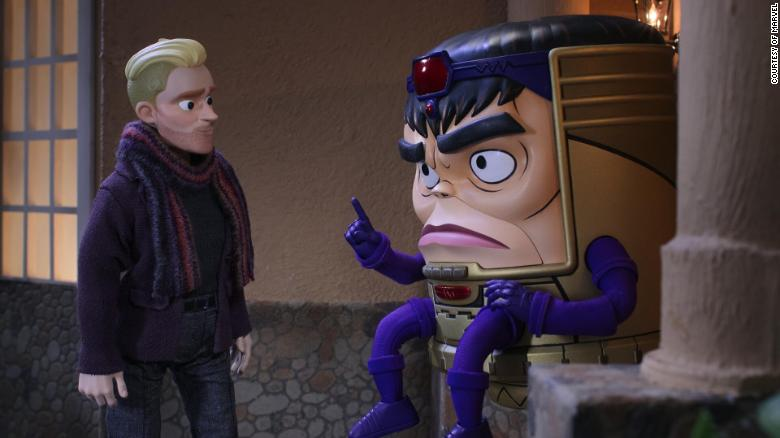 'Marvel's M.O.D.O.K.' gives a fringe villain a weird, very-adult starring role