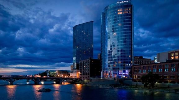 Use your Free Night Award from the Marriott Boundless card at properties like the JW Marriott Grand Rapids in Michigan.