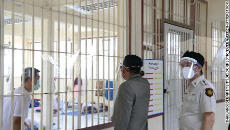 Thailand reports highest number of daily Covid deaths as virus tears through prisons