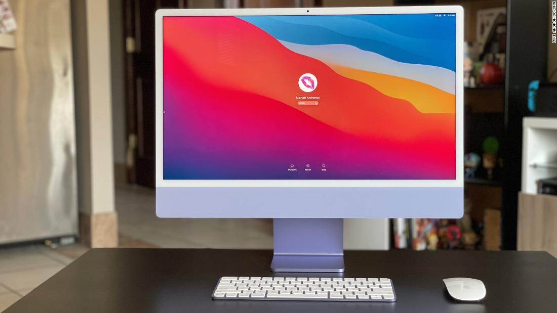 The new iMac is gorgeous, powerful and perfect for the home office | CNN Underscored