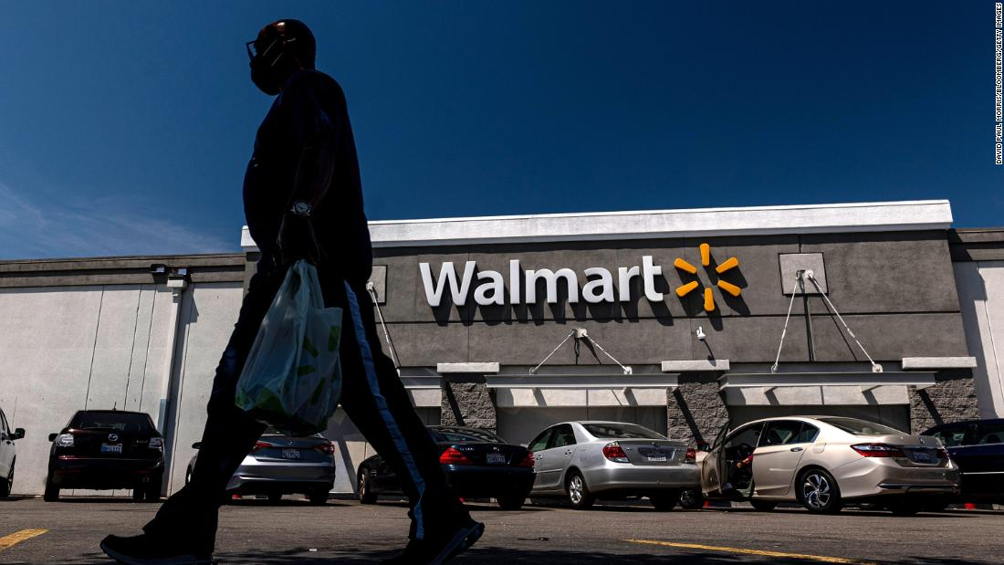 Walmart got a boost from shoppers spending their stimulus checks