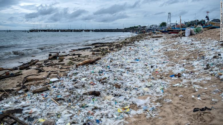 Half of single-use plastic waste produced by just 20 companies