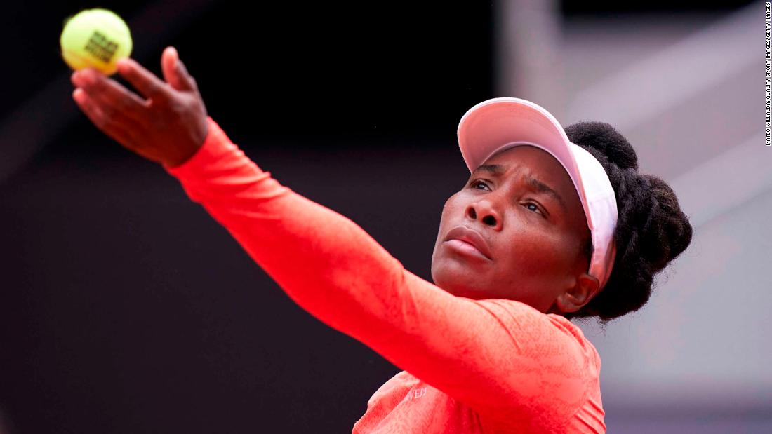 'I can't control God,' says Venus Williams following time violation due to heavy winds