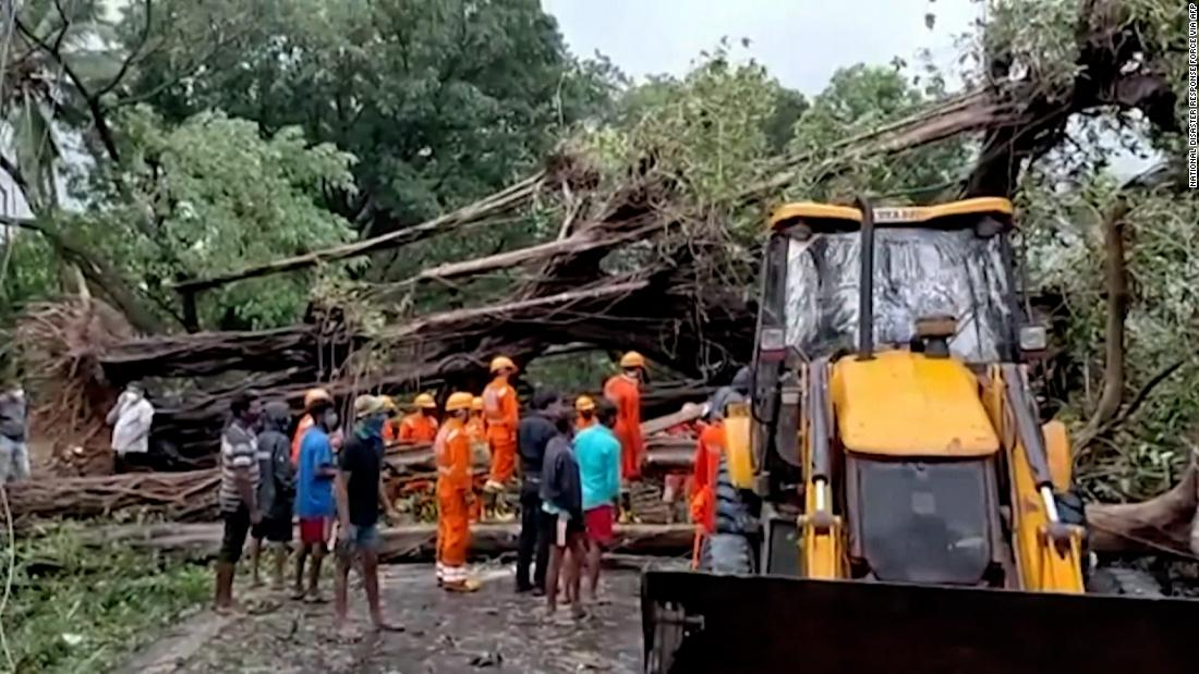 Video shows storm hitting India as battle against Covid continues
