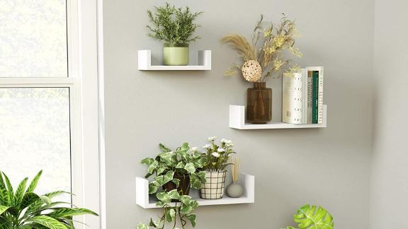 Sriwatana Wall-Mounted Floating Shelves