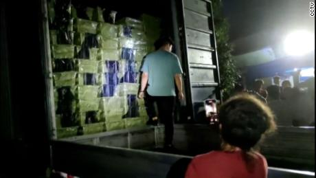 Boxes full of young dogs and cats in the back of a truck, which was stopped by animal rights group Love Home in Sichuan province, China, on May 3. They posted footage of their raid to social media, where it spread rapidly.