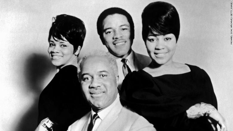 Pervis Staples, one of the founding members of the legendary Chicago gospel group the Staple Singers, died on May 6, according to a funeral home notice and Facebook post. He was 85. Staples is seen here, third from left, along with the rest of the Staple Singers.