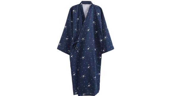 Spring Summer Nightgown Cotton Kimono