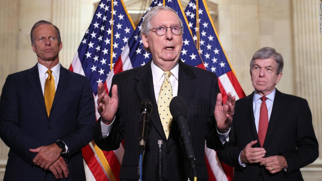 McConnell says no Republicans will vote to raise debt ceiling - CNN