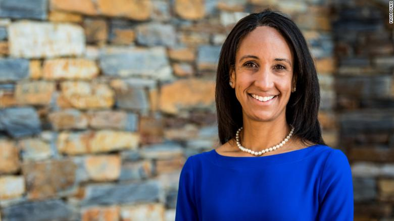 Duke University's new athletics director is first woman and person of color to hold that position