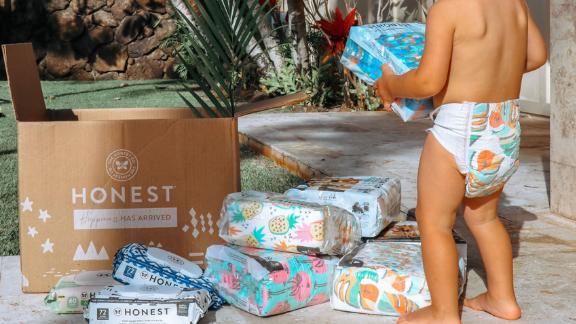 Honest Diaper + Wipes Subscription Bundle