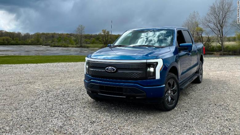 Check out the new electric Ford F-150 Lightning