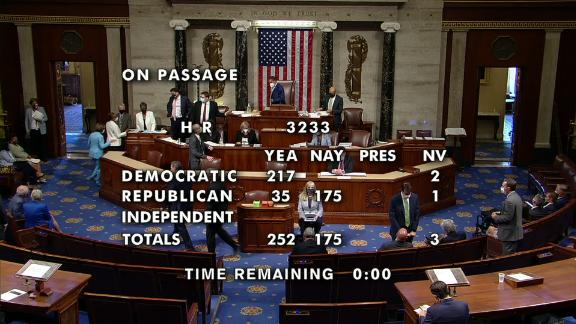 Image for House narrowly passes $1.9 billion Capitol security bill after January 6 insurrection