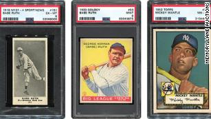 A doctor who died from Covid-19 left his family a sports card collection worth $20 million
