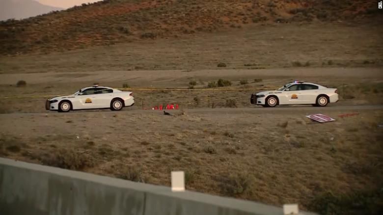 A suspect was captured in Utah after a chase in a deputy's stolen vehicle