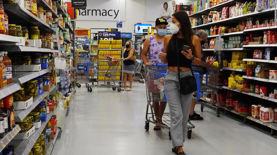 Walmart reinstates mask policy as Delta variant cases climb