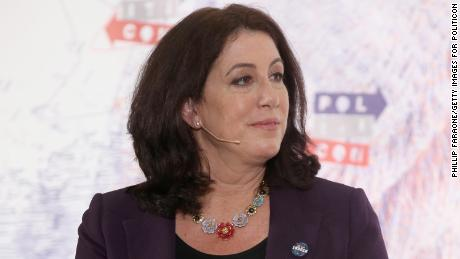 Christine Pelosi speaks onstage during Politicon 2018 at Los Angeles Convention Center on October 21, 2018 in Los Angeles, California.