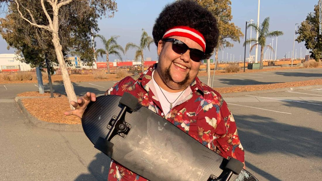 This skateboard club is helping plus-size riders push body positivity forward – CNN