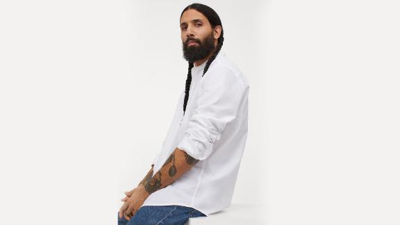 Regular Fit Henley Shirt