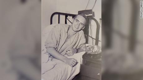 Then-1st Lt. Ralph Puckett Jr. sustained wounds in the Battle for Hill 205 that ended his combat tour in Korea.
