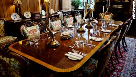 Feeling special? Guests can book out the Royal Waiting Room for private dining.