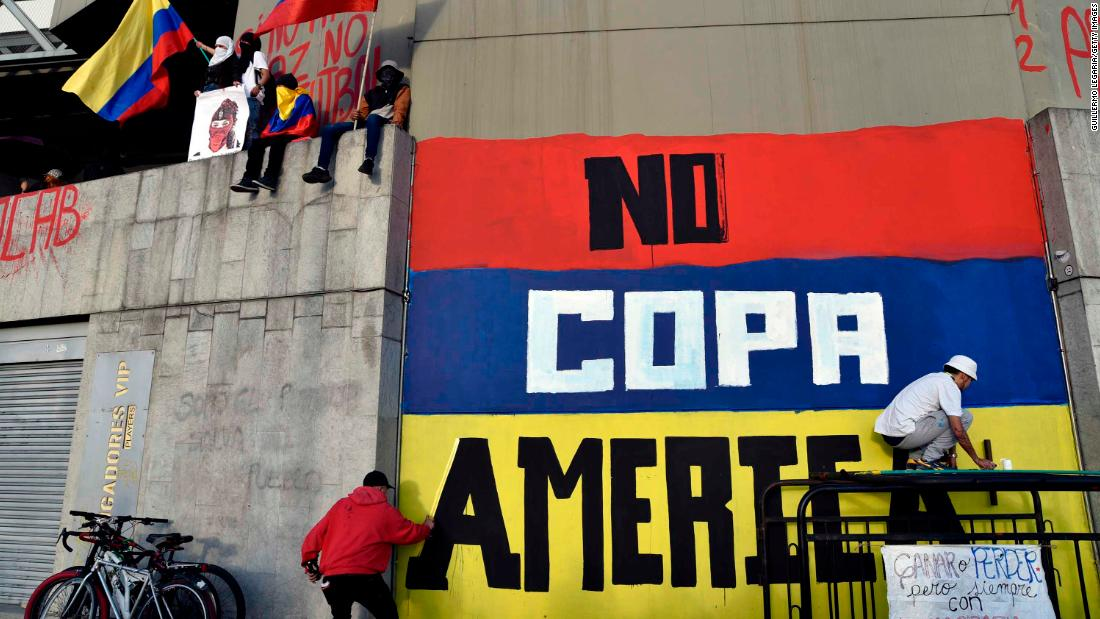 Colombia will no longer co-host Copa América, CONMEBOL rejects request for postponement