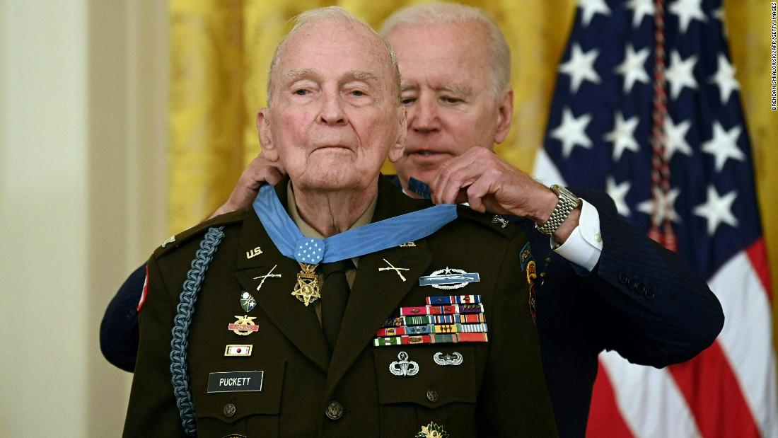94-year-old gets Medal of Honor 70 years after Korean War heroism – CNN