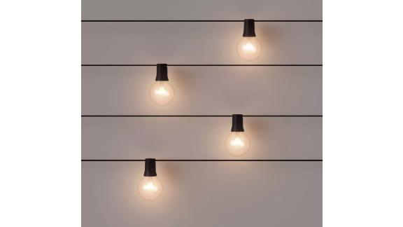 Incandescent Outdoor String Lights, 20-Count