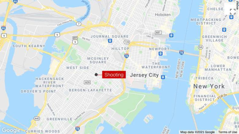 Shooting in Jersey City leaves two people dead and four others injured
