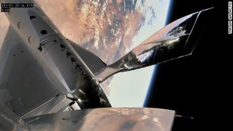Virgin Galactic lançou um vôo espacial de sucesso pela terceira vez