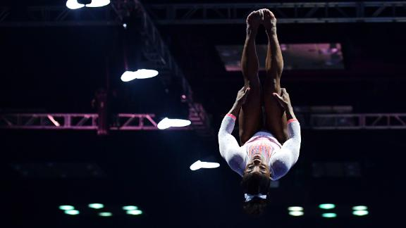 Biles becomes <a href=