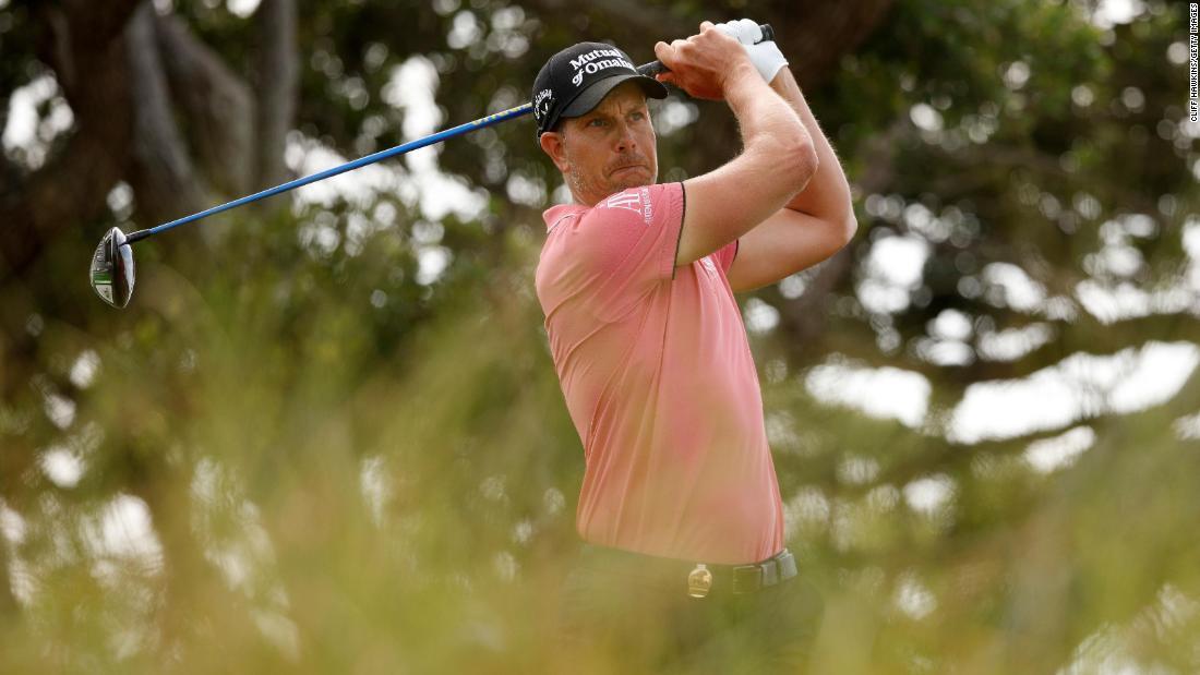 Henrik Stenson snaps club in calmest manner you'll see during PGA Championship