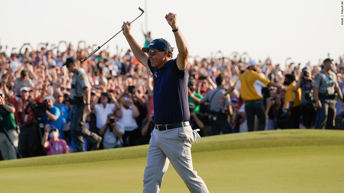 Phil Mickelson's 'simply amazing' win and a victory against his doubters