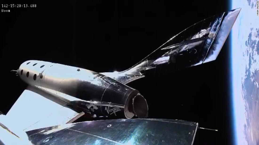 Virgin Galactic shares soar like a rocket – CNN